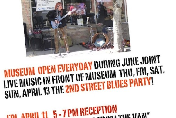 ROCK & BLUES MUSEUM Poster for Juke Joint Festival Week 2014