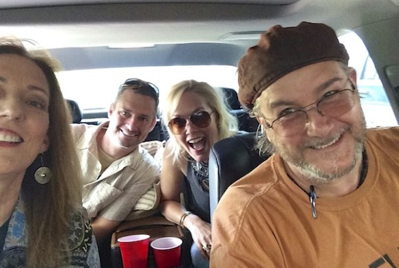 Magical Madge, Photographer Jay Adler, Editor Melissa Townsend and Poor William on a Delta Bohemian Excursion
