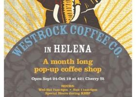 Westrock Coffee Co Pop-up in Helena