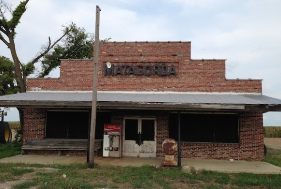Matagorda Commissary. Photo by Poor William