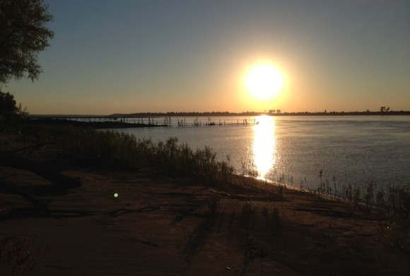 Mississippi River. ©2014 Photo by Delta Bohemian®