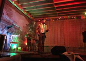 MC of The Mosquito night at New Roxy Randall Andrews