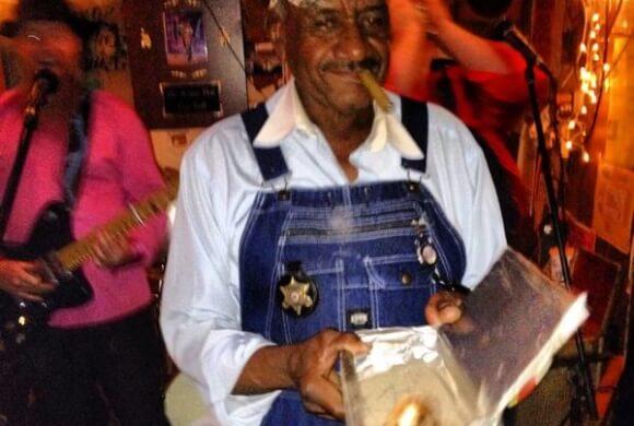 Mr. Willie Seaberry, aka Po Monkey, was a jokester. Photo by The Delta Bohemian®